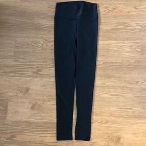 American Apparel high waisted shiny leggings